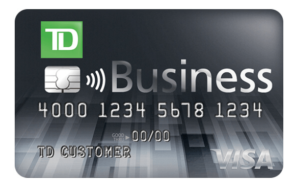 TD Business Solutions Credit Card $400 bonus