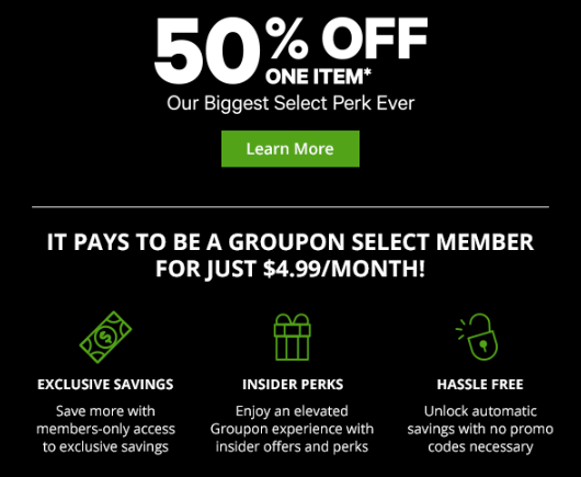 Get 50% Off One Item Today with Groupon Select - Danny the