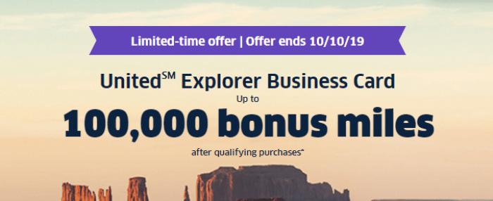 Chase United Business Explorer 100K
