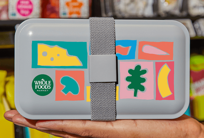 Whole Foods lunch box