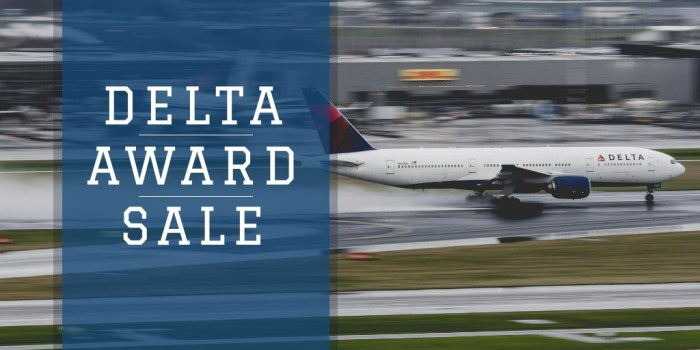 delta award sale jfk lhr