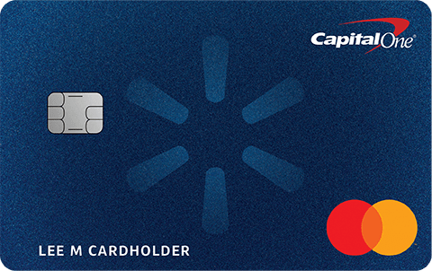 Capital One Walmart cards