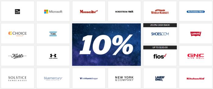 rakuten 10%
