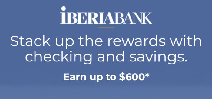 IBERIABANK Bonus