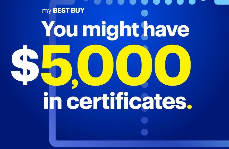 Best Buy Mystery Rewards, Get  to ,000