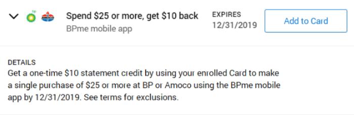 BP/Amoco Amex Offer