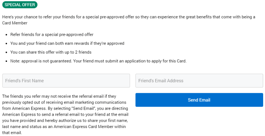 Generate Referrals for Amex Bonuses with No Lifetime Language