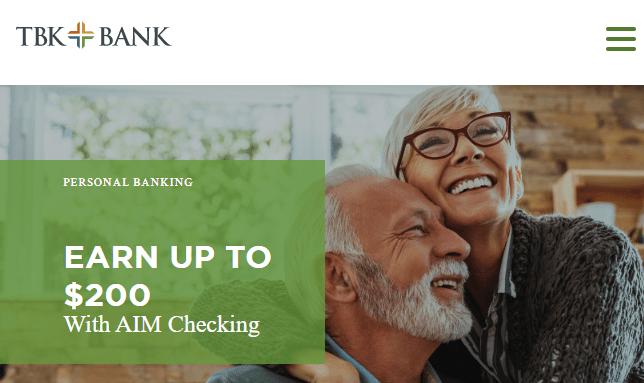 TBK Bank Bonus