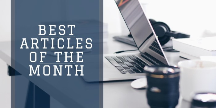 Best Articles of the Month