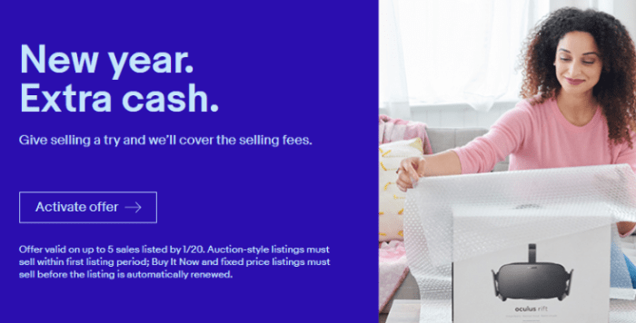 ebay seller promo