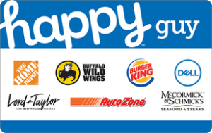 Happy Guy Gift Cards Discontinued