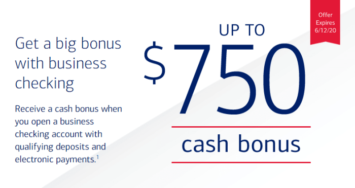 Bank of America $750 bonus