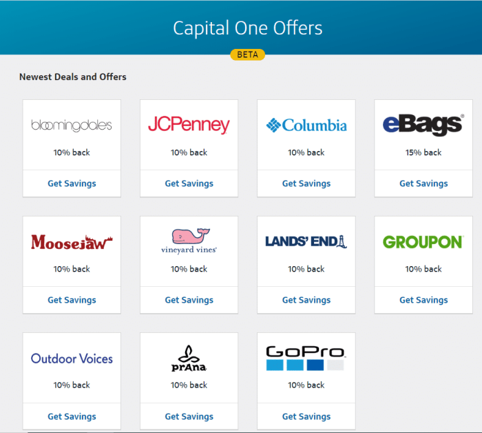 Capital One Offers