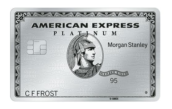 Morgan Stanley Amex Platinum 100K and 10x