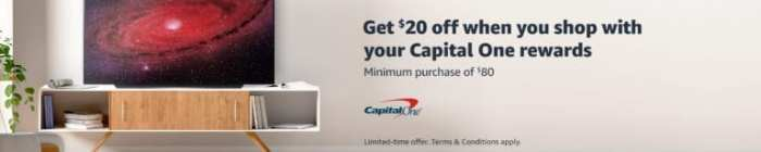 Amazon Shop with Points capital one