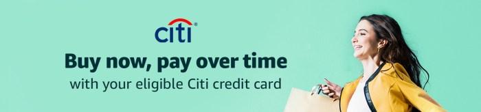 Citi Flex Pay on Amazon