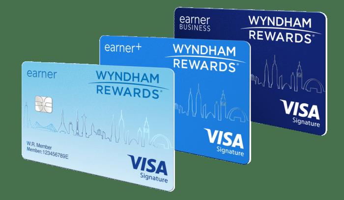 New Wyndham Rewards Credit Cards