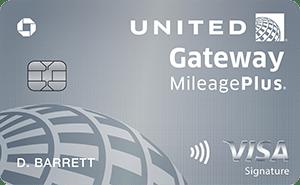 Chase United Gateway Card