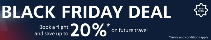 American Airline Black Friday Promo