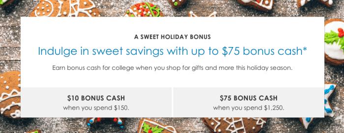 Upromise Shopping bonus