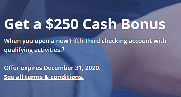 Fifth Third Bank $250 Bonus