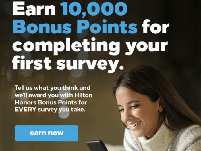 survey 10K hilton
