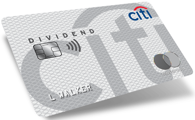 Citi Dividend 5% Categories