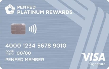 PenFed Platinum Rewards bonus