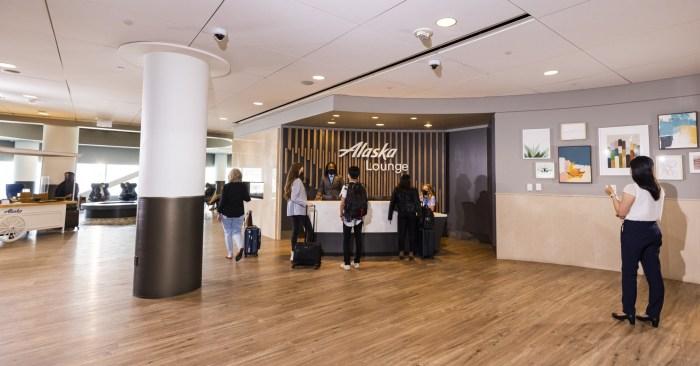 Alaska Airlines SFO Lounge