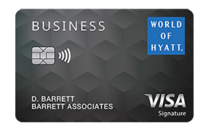 Referrals for the New Chase World of Hyatt Business Card