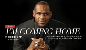 LeBron James letter
