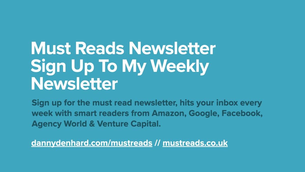 Must Reads Newsletter