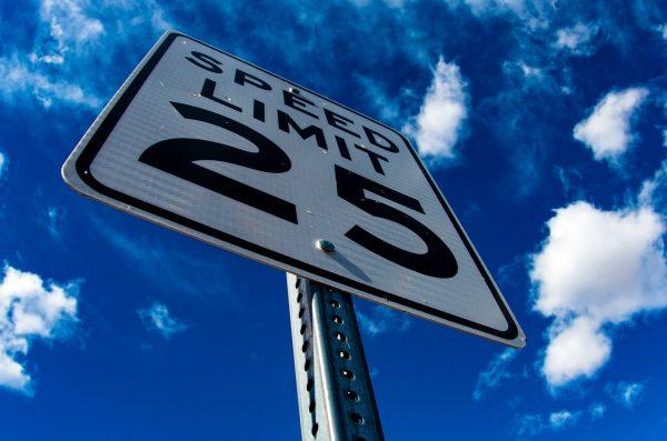 Speed limit in Iceland