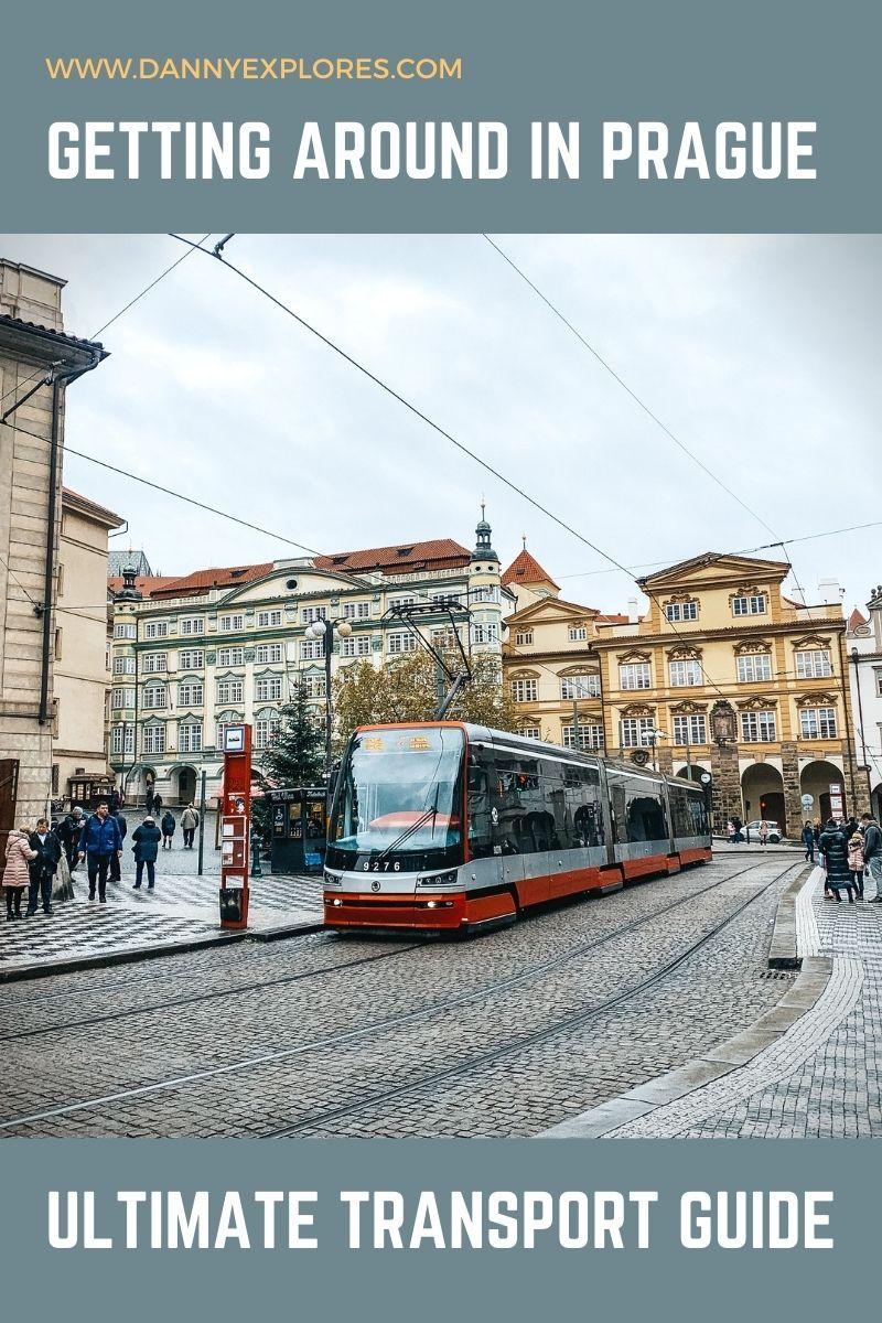 Transport in Prague Pintrets Pin