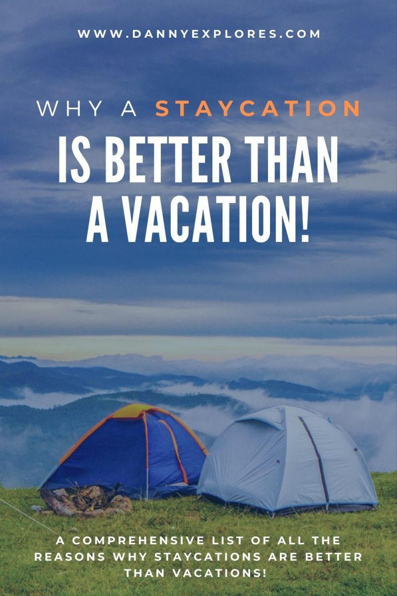 Pintrest Pin - staycation pin