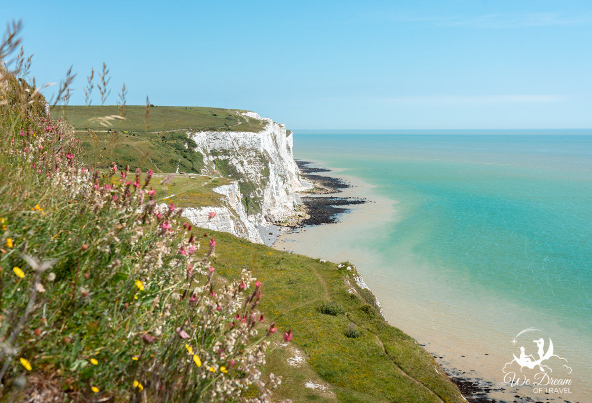 The white cliffs of dover walk