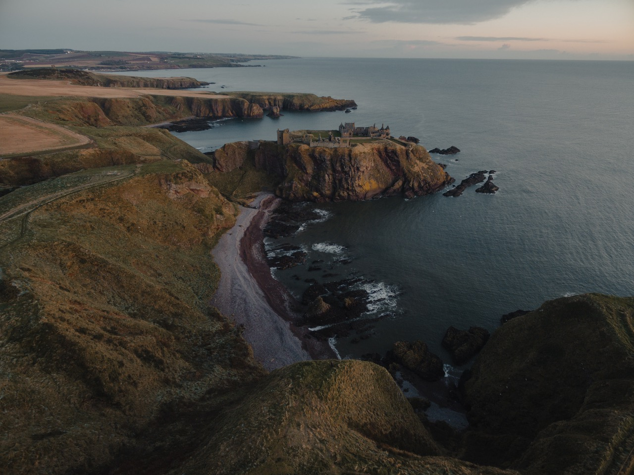 Dunnottar Castle Walk