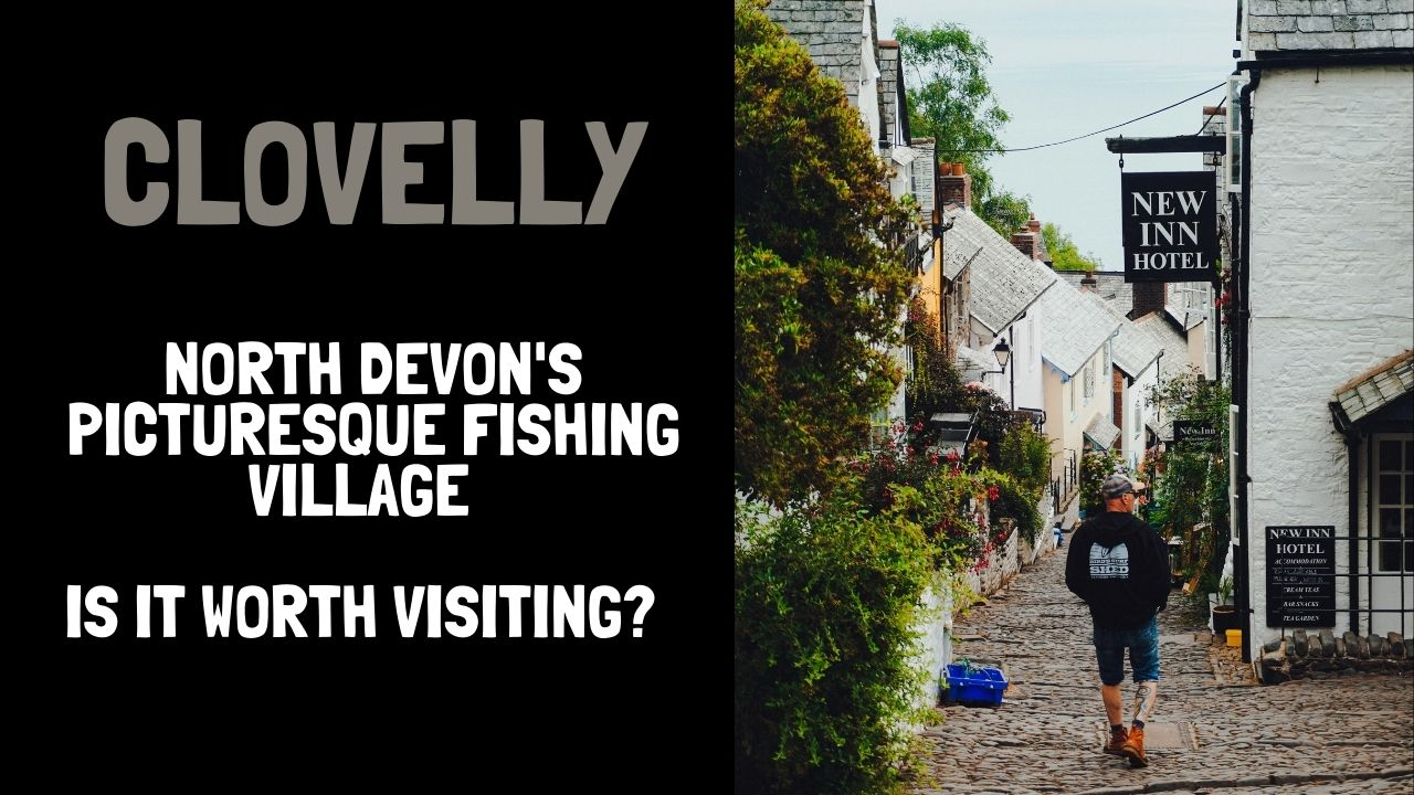 Clovelly - feature image of the Main Street