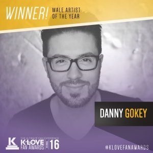 Danny Gokey K-Love Male Artist of the Year 2016