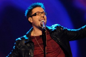 "Danny Gokey returns to American Idol to sing his new single ""My Best Days Are Aheard of Me"""