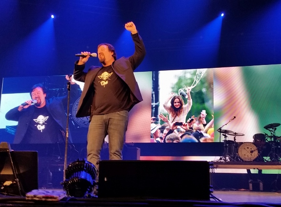 "Mark Hall of Casting Crowns tells a story about ""Sarah""."