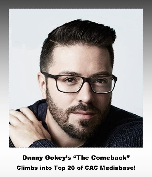 Danny Gokey's song The Comeback reaches To 20
