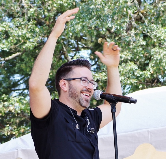 Wendy Reeves photo of Danny Gokey in Roseberg