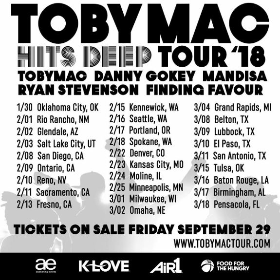 Cities on the Hits Deep Tour 18