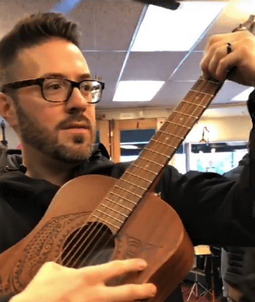 Danny Gokey on guitar by Diego Brawn