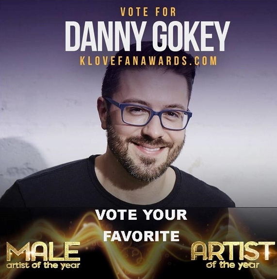 vote for Danny Gokey on KLOVE fan awards