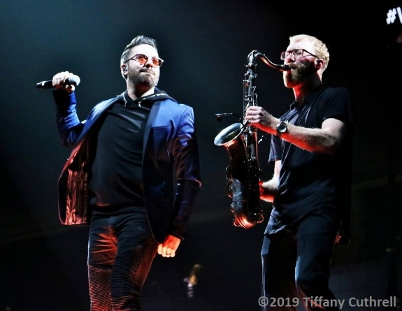 Danny Gokey performs with Kevin Gatzke at Winter Jam