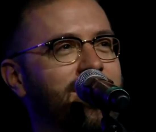 Danny Gokey performs at the KLOVE songwriters shocase