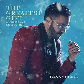 Danny Gokey's second Christmas album cover art