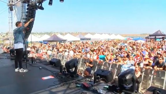 Danny Gokey at the Labour of Love Festival